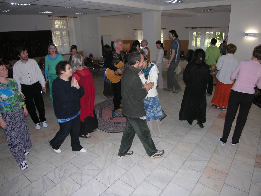 Dances of Universal Peace,Walking in Modra,Slovakia3.JPG